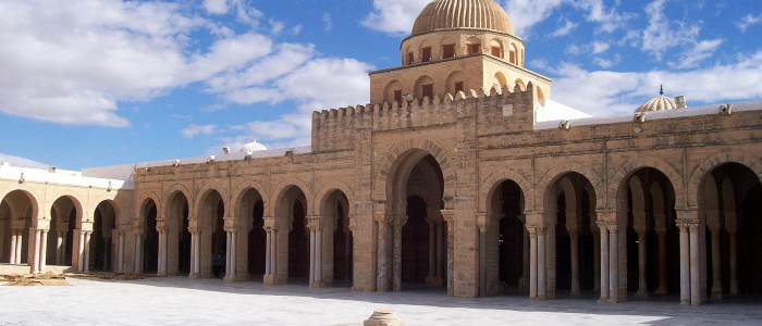 Kairouan_Mosque_Courtyard