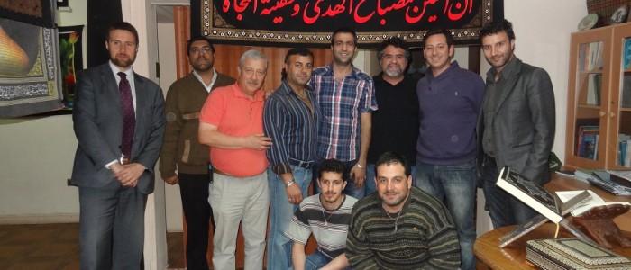 Visita ao Centro Cultural Islamico de Chile (1)